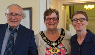 Jo McMillan - Mayor of Tamworth - Philip Hall