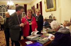 Dr Gaunt with Tamworth Mayor and Consort